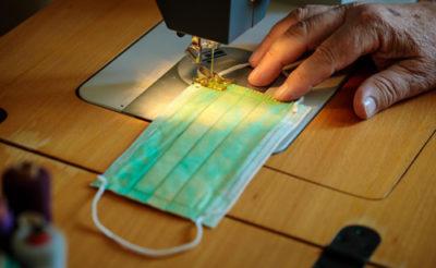 マニフレックス社マスク生産開始