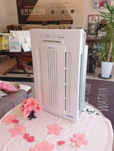 ウィルスを不活性化する機能がある空気清浄機